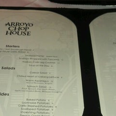 Photo taken at Arroyo Chop House by Irene C. on 10/13/2011