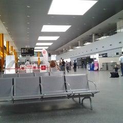 "Photo taken at Cluj-Napoca ""Avram Iancu"" International Airport (CLJ) by Victor A. on 9/25/2011"