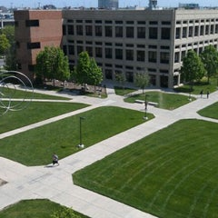 Photo taken at IUPUI:  University Library (UL) by Joshua L. on 4/19/2012