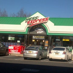 Photo taken at Hess Express by Mark O. on 12/26/2011