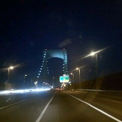 Photo taken at Throgs Neck Bridge Toll Plaza by Jennifer S. on 6/17/2012