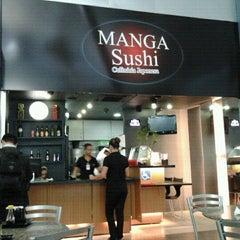 Photo taken at Manga Sushi by Luis A. on 7/13/2012