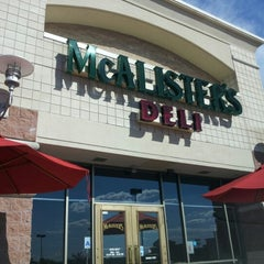 Photo taken at McAlisters Deli by Zen D. on 8/5/2012