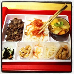 Photo taken at Ace Gourmet Bento by Julien D. on 2/4/2012