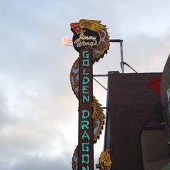 Photo taken at Golden Dragon: The Asian Bistro by Jon W. on 7/23/2012