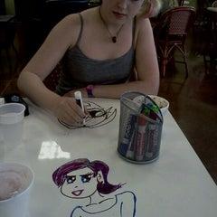 Photo taken at Yo-Joe's Frozen Yogurt & Coffee Shoppe by Melonie A. on 4/14/2012