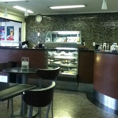 Photo taken at Fran's Café by Diego C. on 3/25/2012