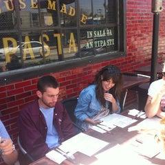 Photo taken at Delancey by Alyssa J. on 4/27/2012