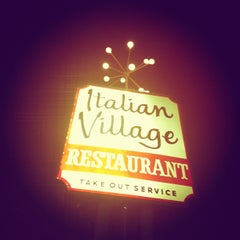 Photo taken at Italian Village by Troy M. on 3/2/2012