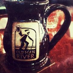 Photo taken at Old Man River by Genevieve B. on 4/30/2012