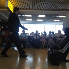 Photo taken at Concourse C by Joe G. on 7/26/2012