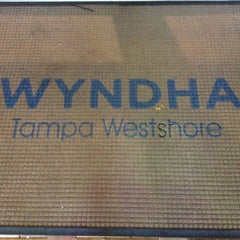 Photo taken at Wyndham Tampa Westshore by Tony B. on 4/13/2012