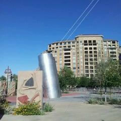 Photo taken at Soleri Bridge & Plaza by Rosario S. on 6/4/2012