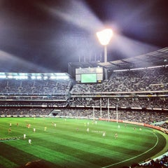 Photo taken at Melbourne Cricket Ground (MCG) by Kevin P. on 9/1/2012