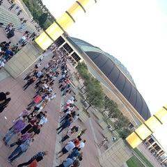 Photo taken at Palau Sant Jordi by Jason E. on 6/20/2012