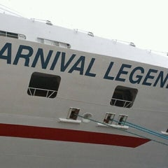 Photo taken at Carnival Legend by Lenae on 9/4/2011
