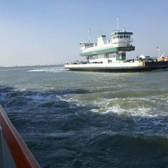 Photo taken at Galveston - Bolivar Ferry by Erin P. on 10/14/2011