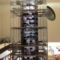 Photo taken at Aureole Wine Lounge by Matthew S. on 12/16/2011
