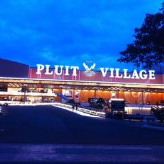 Photo taken at Pluit Village by Yofie S. on 4/3/2011