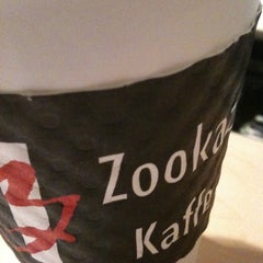 Photo taken at Zookaz Kaffe by Charlie W. on 3/6/2011