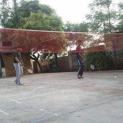 Photo taken at Shuttle Court by Senthamil V. on 4/3/2011