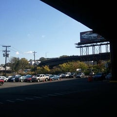 Photo taken at North Bergen Park and Ride by eric f. on 10/15/2011