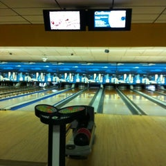 Photo taken at Lane Glo Bowl by Eatery A. on 2/25/2012