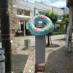 Photo taken at ももねこ様像 by ひる ご. on 8/6/2012