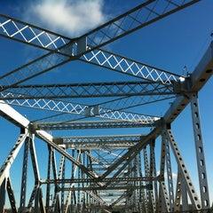 Photo taken at Tappan Zee Bridge by Bari on 12/26/2011
