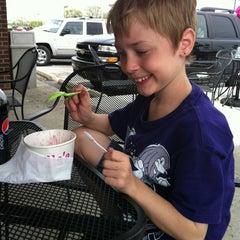 Photo taken at Ella's Frozen Yogurt by Teresa M. on 4/15/2012
