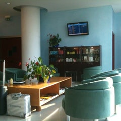 Photo taken at BLQ Marconi Business Lounge by Marco P. on 11/23/2011