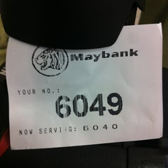 Photo taken at Maybank by Prem K. on 7/9/2012