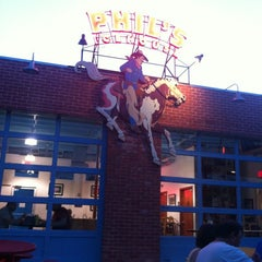 Photo taken at Phil's Icehouse by Stephanie M. on 8/12/2012