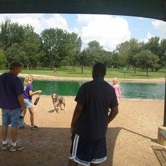 Photo taken at Bill Archer Dog Park by Stephen H. on 7/14/2012