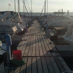Photo taken at Westerly Marina by Lorena C. on 7/15/2012