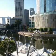 Photo taken at Clarke Quay Management Office by Joanne C. on 7/30/2011