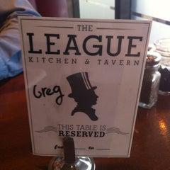 Photo taken at The League Kitchen & Tavern by Lake Travis M. on 4/19/2012