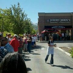 Photo taken at Jimmy John's by Jeff (youtah) M. on 6/23/2011