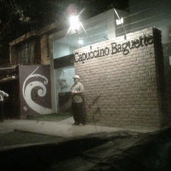 Photo taken at Capuccino Baguette by Luis F. on 8/9/2011