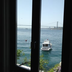 Photo taken at Sumahan On The Water Hotel Istanbul by Ol O. on 4/25/2012