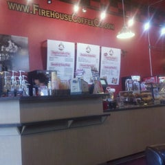 Photo taken at Firehouse Coffee Co by Joe P. on 9/4/2011