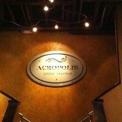 Photo taken at Acropolis Greek Taverna by Dave W. on 7/29/2011
