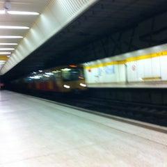 Photo taken at Jesmond Metro Station by Richard C. on 11/12/2011