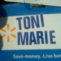 Photo taken at Walmart Supercenter by Toni B. on 9/11/2011
