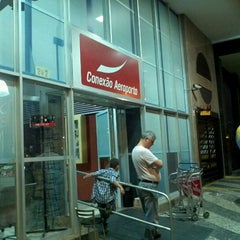 Photo taken at Conexão Aeroporto by Luiz Antonio B. on 10/29/2011