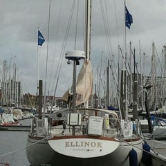 Photo taken at Jachthaven Scheveningen by Bas K. on 9/14/2011