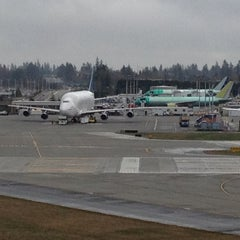 Photo taken at Future of Flight Aviation Center & Boeing Tour by Justin M. on 3/13/2012