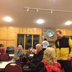 Photo taken at Mountain Warming Hut by Alan H. on 3/3/2012