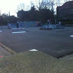 Photo taken at Tennisbaan by jesus g. on 3/19/2012