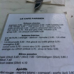 Photo taken at Café Parisien by Benito P. on 5/1/2011